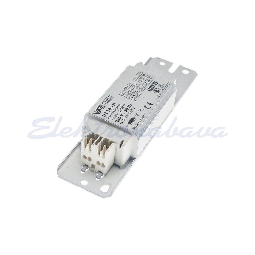 Klasična prigušnica - fluo VOSSLOCH LN 18.131 1x za svjetilkeTC-D 18W 230V