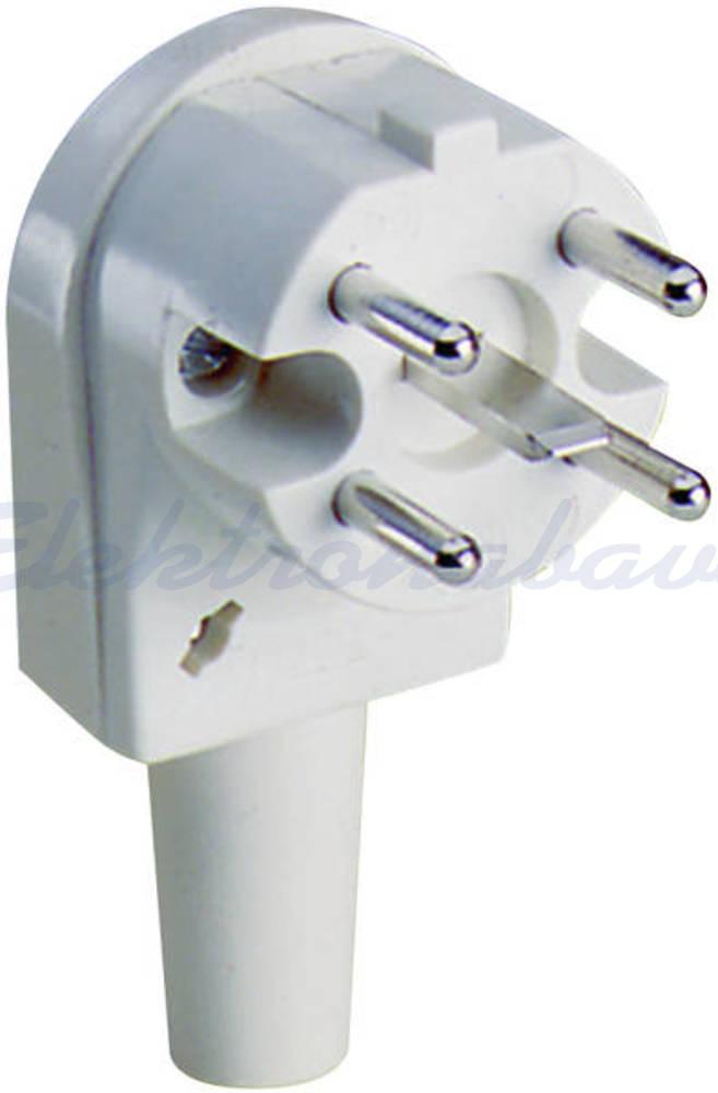 Slika proizvodaUtikač za kabel CEE Perilex 16/25A 5P Pod kutom Bijela