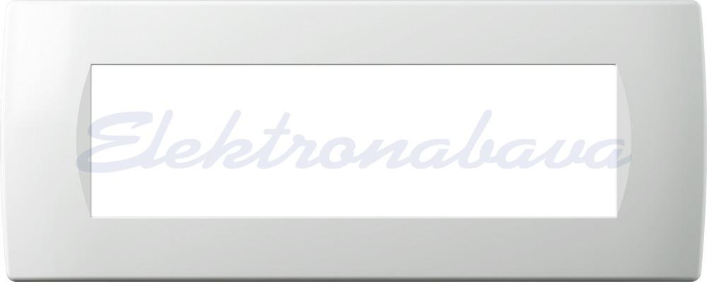 Slika proizvodaUkrasni okvir MODUL SOFT Unipack 7M Bijela Vodoravno Plastika Mat